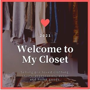 !!!WELCOME TO MY CLOSET!!!
